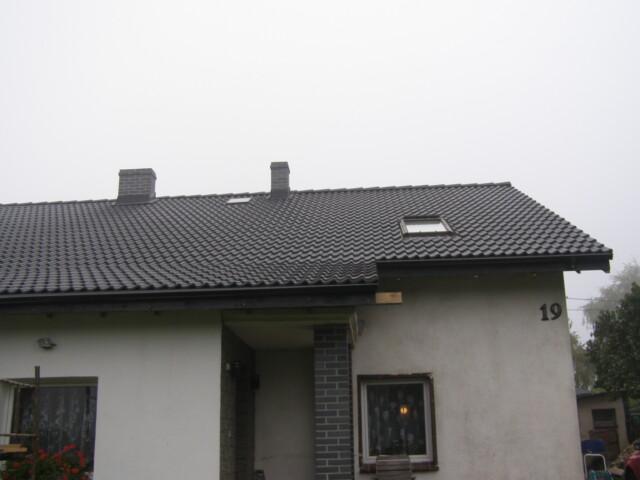 Przebudowa (całkowita) dachu w Sobótce